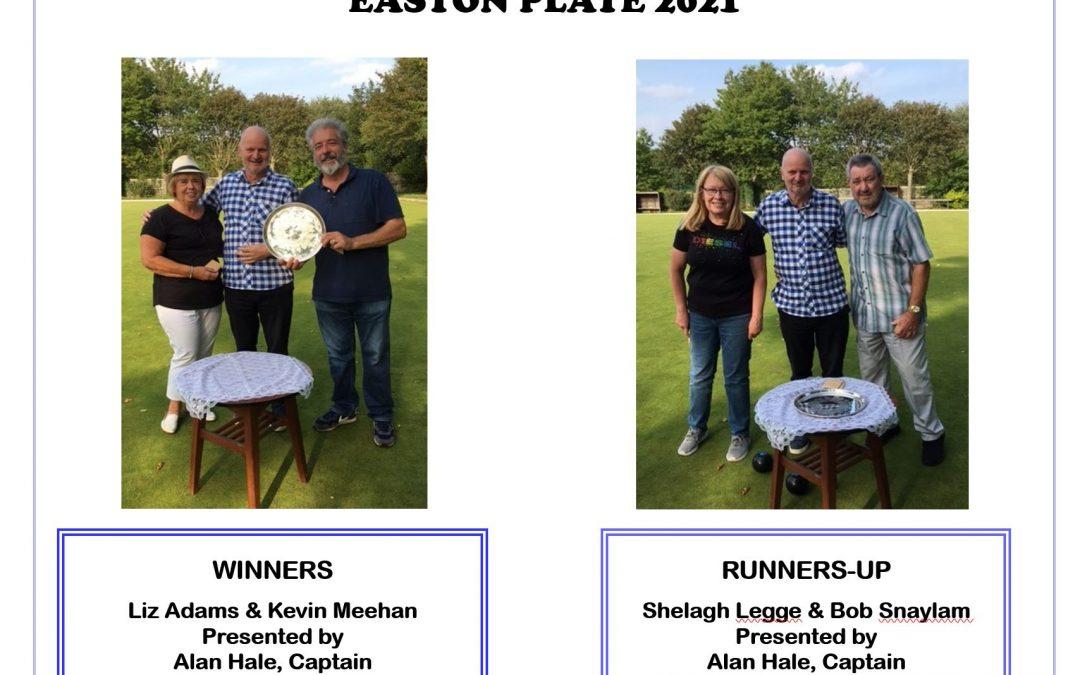 Easton Plate 2021